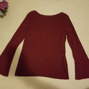Old Navy dark red sweater